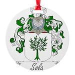 Sola_Italian.jpg Round Ornament
