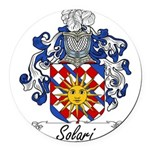 Solari_Italian.jpg Round Car Magnet