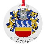 Soprani_Italian.jpg Round Ornament