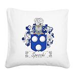 Specchi_Italian.jpg Square Canvas Pillow