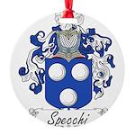 Specchi_Italian.jpg Round Ornament