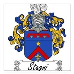 Stagni_Italian.jpg Square Car Magnet 3