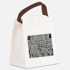 Casey At The Bat Verse 4 Canvas Lunch Bag