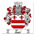 Tanzi_Italian.jpg Square Car Magnet 3