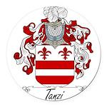 Tanzi_Italian.jpg Round Car Magnet