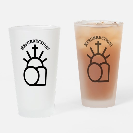 Resurrection Drinking Glass