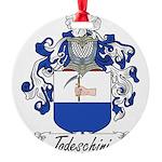 Todeschini_Italian.jpg Round Ornament