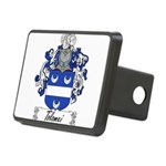 Tolomei Family Crest Rectangular Hitch Cover