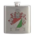 Tonini Coat of Arms Flask