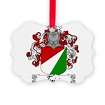 Tonini Coat of Arms Picture Ornament