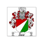 Tonini Coat of Arms Square Sticker 3