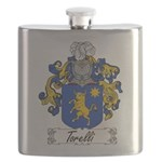 Torelli Coat of Arms Flask