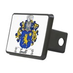 Torelli Coat of Arms Rectangular Hitch Cover