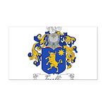 Torelli Coat of Arms Rectangle Car Magnet