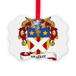 Walker Coat of Arms Picture Ornament