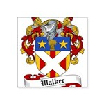 Walker Coat of Arms Square Sticker 3