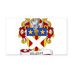 Walker Coat of Arms Rectangle Car Magnet