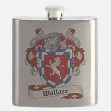 Wallace Coat of Arms Flask