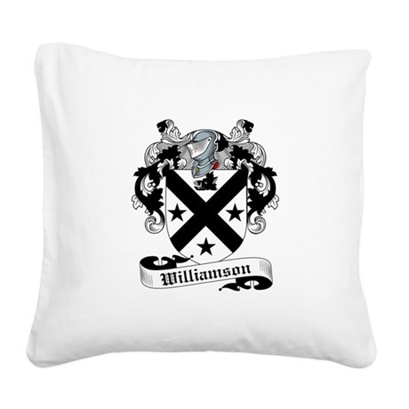 Williamson-Scottish-9.jpg Square Canvas Pillow