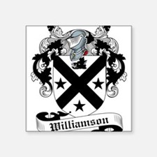 "Williamson-Scottish-9.jpg Square Sticker 3"" x 3"""
