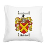 Andrews.jpg Square Canvas Pillow