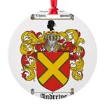 Andrews.jpg Round Ornament