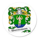 Wassermann_6.jpg Round Car Magnet