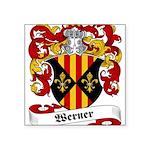 Werner_6.jpg Square Sticker 3