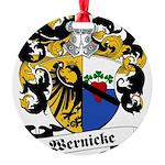Wernicke_6.jpg Round Ornament