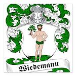 Wiedemann_6.jpg Square Car Magnet 3