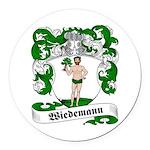 Wiedemann_6.jpg Round Car Magnet