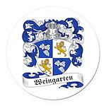 Weingarten_6.jpg Round Car Magnet