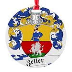 Zeller_6.jpg Round Ornament