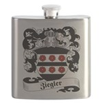 Ziegler Coat of Arms Flask