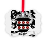 Ziegler Coat of Arms Picture Ornament