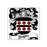 Ziegler Coat of Arms Square Sticker 3