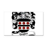 Ziegler Coat of Arms Rectangle Car Magnet