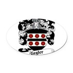 Ziegler Coat of Arms Oval Car Magnet