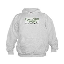 Alligator and Crocodile Hoody