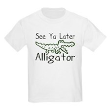 Alligator and Crocodile Kids T-Shirt