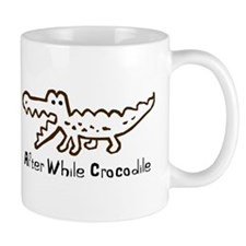 Alligator and Crocodile Coffee Mug