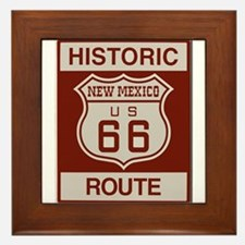 New Mexico Route 66 Framed Tile