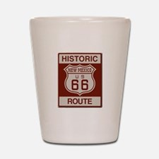 New Mexico Route 66 Shot Glass