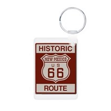 New Mexico Route 66 Keychains