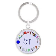 OT at work Round Keychain