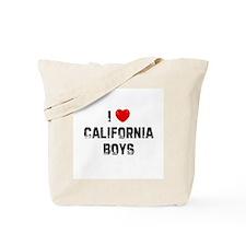 I * California Boys Tote Bag