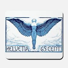 Antique 1924 Switzerland Icarus Postage Stamp Mous