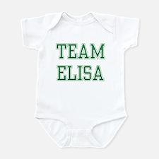 TEAM ELISA  Infant Bodysuit