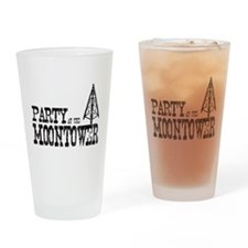 Party at the Moontower Drinking Glass