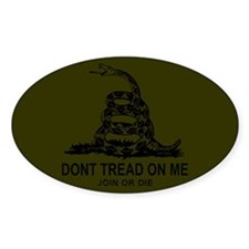 Gadsden Flag Decal (Subdued) Decal